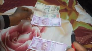Difference between new Notes and Old notes of 2000rs