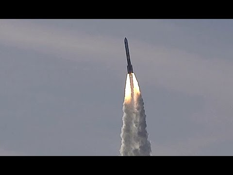 UAL Delta IV Rocket with NROL-47 Payload Launch 1/12/2018