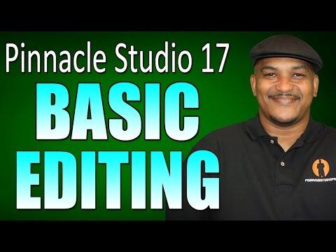 Pinnacle Studio 17 Ultimate – Basic Editing Tutorial