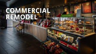 Commercial Remodeling | Cafe Shop Design Ideas