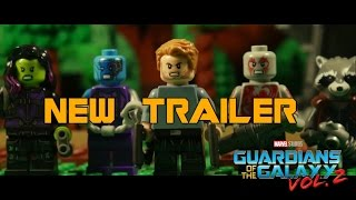 Guardians of the Galaxy Vol. 2 Final Trailer in LEGO