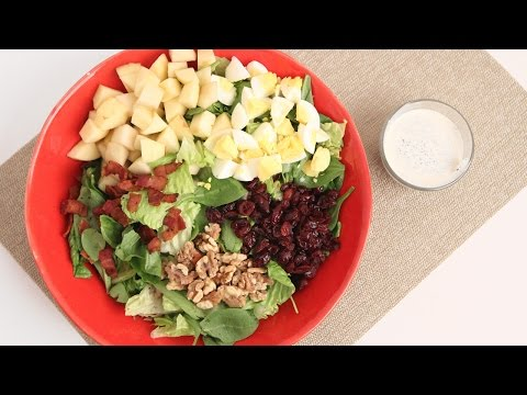 Winter Cobb Salad Recipe – Laura Vitale – Laura in the Kitchen Episode 853