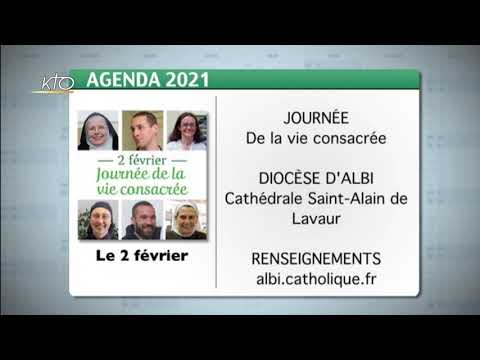 Agenda du 29 janvier 2021