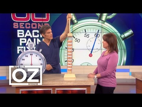 Video 60-Second Back Pain Fixes