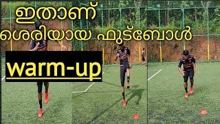 Proper football warm-up malayalam | my game