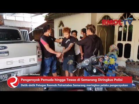 Pengeroyok Pemuda hingga Tewas di Semarang Diringkus Polisi