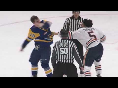 Zach Huber vs. Montana Onyebuchi