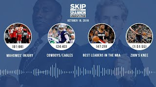 UNDISPUTED Audio Podcast (10.18.19) with Skip Bayless, Shannon Sharpe & Jenny Taft   UNDISPUTED