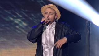 "Topgunn ""6 liter"" Live fra The Voice '15"