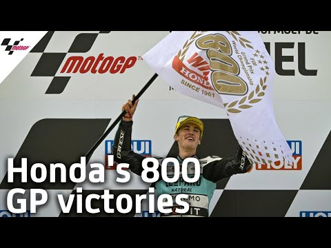 ホンダが通算800勝を達成!MotoGP テルエルGP