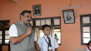 Education Minister Vinod Tawde shares candid conversation about reading with students