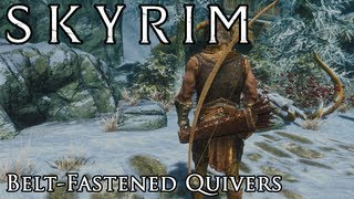 Skyrim Mod Spotlight: Belt-Fastened Quivers