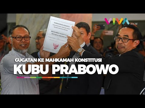 Isi Gugatan Kubu Prabowo ke MK