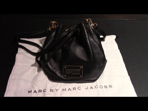 Marc by Marc Jacobs M0007214 Black New Too Hot To Handle DrawString Pochette Mini Shoulder Bag