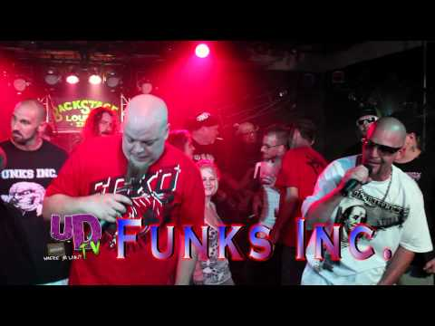 FUNKS INORPORATED Get Your Hands Out My Pocket Live at the UDTV HIP HOP BUFFET 7-27-2012