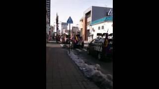 2016/02/06・岩手県盛岡市日教組教研集会粉砕