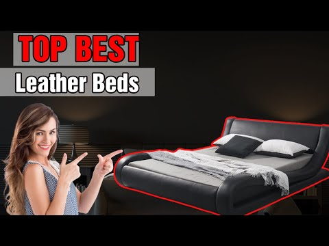 Top 5 Best Leather Bed Frame In 2021 Review