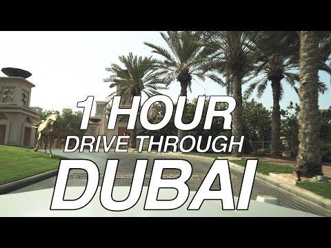 1 HOUR DUBAI DRIVE!!! - YouTube
