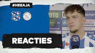 Reacties   sc Heerenveen - Ajax   Jansen & Bakker