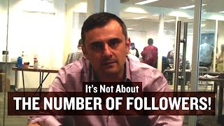 It's Not About the Number of Followers!