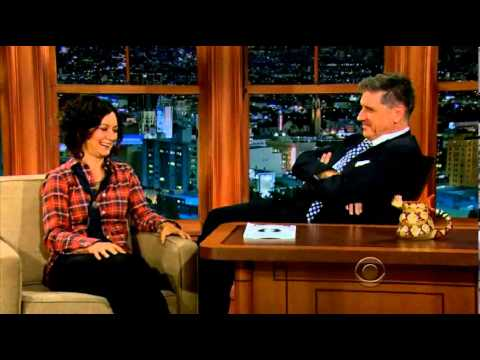 Sara Gilbert on Craig Ferguson 09.05.13 Full Interview