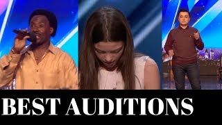 Top 3 *BEST* AUDITIONS on AMERICA