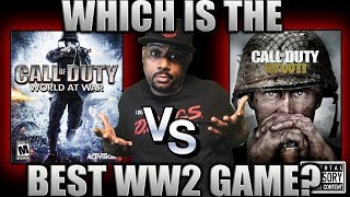 THROWBACK THURSDAY | WWII vs WAW...Which is the BEST WW2 Game?