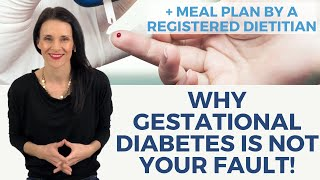 Is Gestational Diabetes My Fault? + Gestational Diabetes Meal Plan