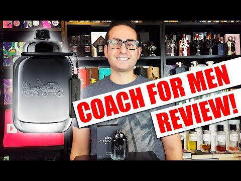 Coach for Men Fragrance / Cologne Review + Giveaway!
