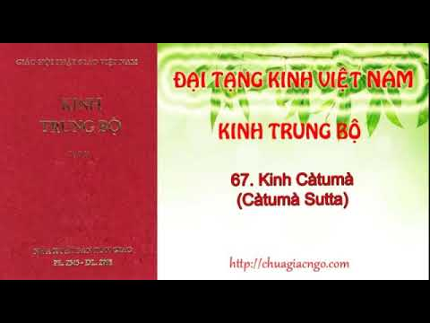 Kinh Trung Bộ - 067. Kinh Catuma