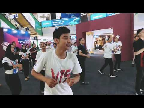 Kemesraan vivo Semarang | CFD vivo Y17 moment combination V15 launch