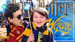 Boy Teaches Me Wizardry at Hogwarts   The Wizarding World of Harry Potter!