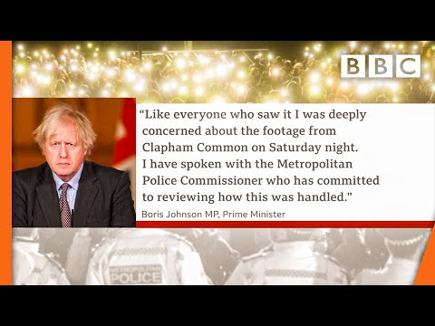 Boris Johnson 'deeply concerned' by vigil footage @BBC News live ???? BBC