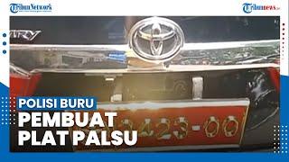 Terkait Video Viral Mobil yang Gunakan Plat TNI, Polisi Kini Buru Pembuat Sebenarnya