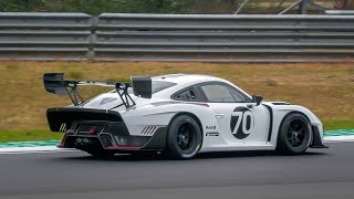 €1 Million NEW Porsche 935 in action at Circuit Zolder! (Porsche 935/78 Moby Dick Tribute)