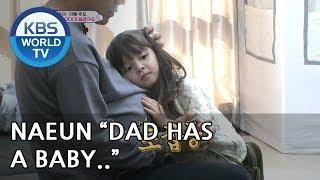 """Naeun """"Dad has a baby!"""" [The Return of Superman/2019.01.06]"""