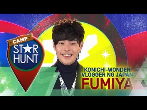 Camp Star Hunt: Fumiya - Konichi-Wonder Vlogger ng Japan