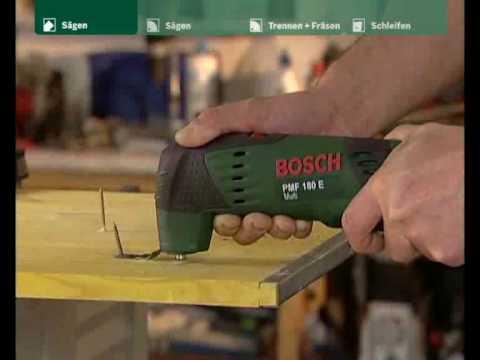Bosch Multifunktionswerkzeug PMF 180 E Multi