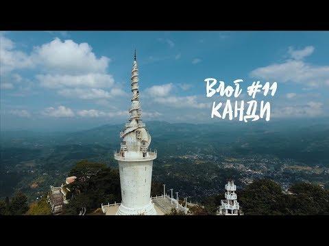 Шри-Ланка 2018, Канди: Большой Будда, Храм Зуба Будды, Храм четырех религий. Влог #11