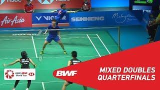 QF | XD | CHAN/GOH (MAS) [5] vs WANG/HUANG (CHN) [2] | BWF 2019