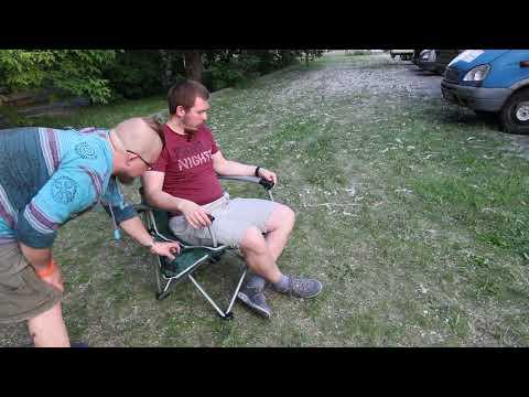 Складное кресло Greenell «Элит FC-24». Видеообзор.