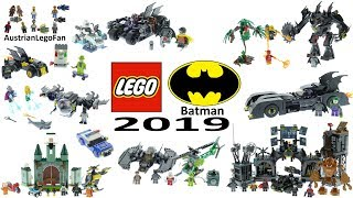 All Lego Batman 2019 Sets Compilation - Lego Speed Build Review