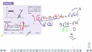 Eğitim Vadisi AYT Matematik 22.Föy Belirli İntegral 2 Konu Anlatım Videoları