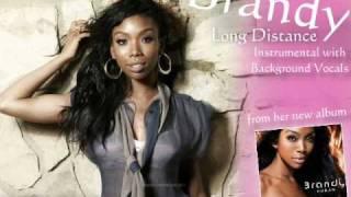 Brandy - Long Distance Instrumental + Off. Background Vocals