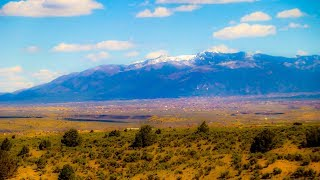 The Drive To Taos, New Mexico