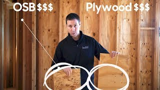 Framing : OSB vs. Plywood - Whats the difference in COST AND PERFORMANCE