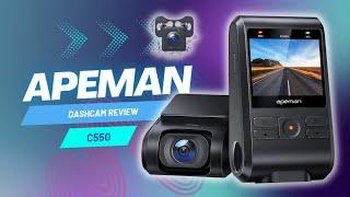APEMAN C550 Dashcam - Review