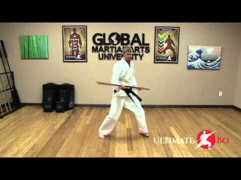 Beginner Bōjutsu Class - Train Hard at Home - YouTube