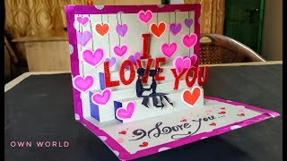 Valentines Day Cards | Valentine Cards Handmade Easy | Love Greeting Cards Latest Design Handmade