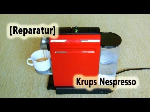 [Reparatur] Krups Nespresso Citiz